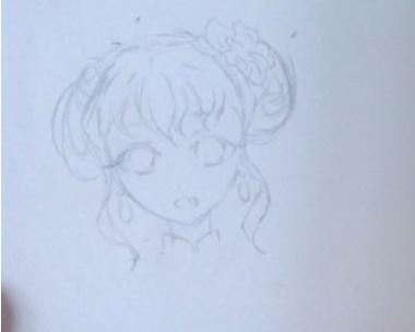 简单的铅笔画漫画人物绘画教程-武汉动漫游戏校区