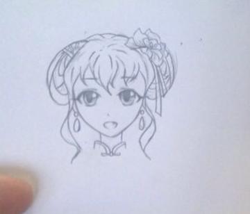 简单的铅笔画漫画人物绘画教程