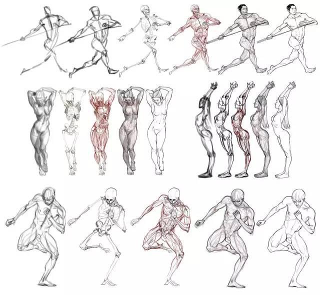 游戲角色設計的原畫三視圖繪制上有什么技巧?