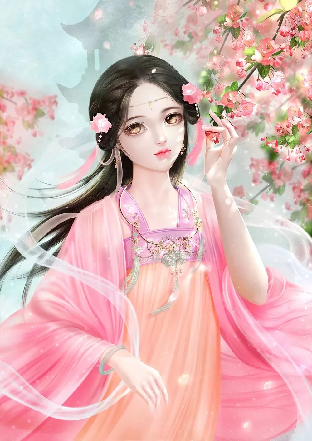 奇天樱花节插画征集大赛公示